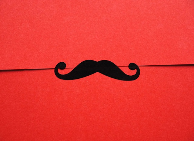 Boulanger Moustache Gift Wrap Stickers (48)