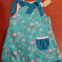 Turquoise Reversible Dress