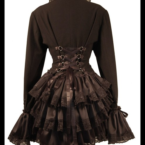 Steampunk Fashion Women Dresses QUEEN OF THE NIGHT Got...