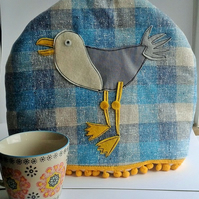 Tea Cosy -  Seagull (large size)