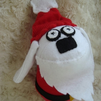 Father Woofmas Sock Dog