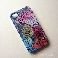 'In Bloom' iphone 4, 4s hard case