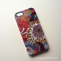 'Paisley Flowers' iphone 5, 5s hard case