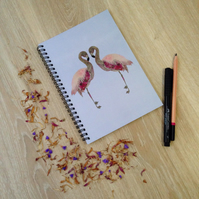 'Pretty in Pink' A5 Notebook