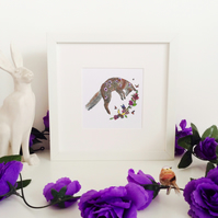 'Blossom' Hand Finished Framed Print
