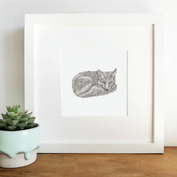 'The Watch' Framed Print