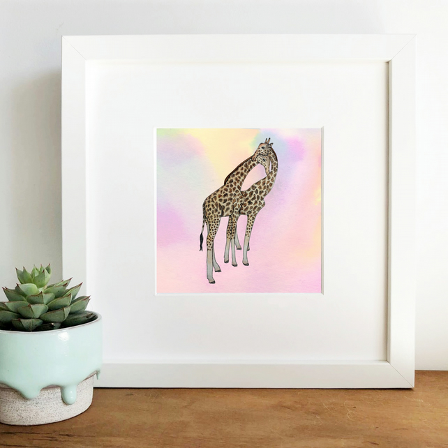 'At Sunset' Framed Print