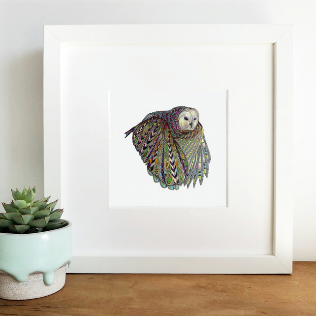 'Flight' Limited Edition Framed Print