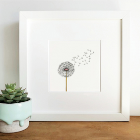 'Wish' Hand Finished Framed Print