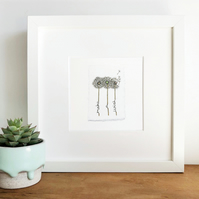 'Make A Wish' Hand Finished Framed Print