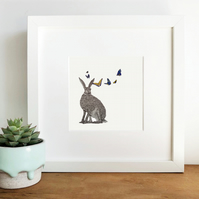 'Iris' Limited Edition Framed Print
