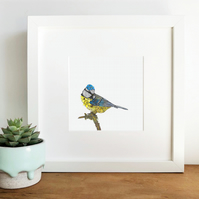 'Blue' Limited Edition Framed Print