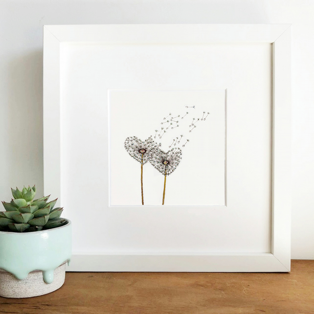 'Love Wish' Hand Finished Framed Print