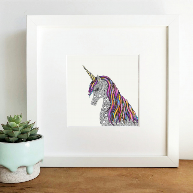'Pearl' Limited Edition Framed Print