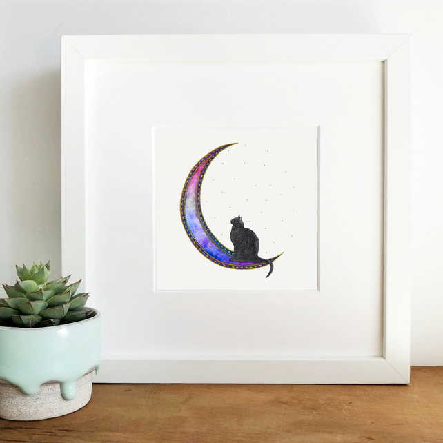 'Twilight' Hand Finished Framed Print