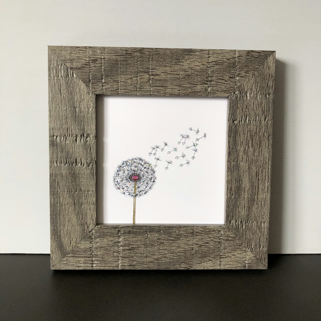 'Wish' Mini Framed Print