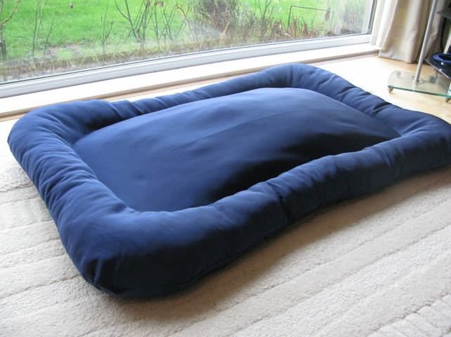 Chew resistant dog bed extra large folksy for Large chew proof dog bed