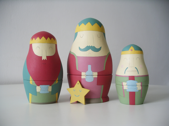 Three Wise Men (Russian Dolls)
