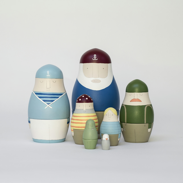 Ship's Crew (Russian Dolls)