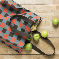 Lumberjack Check Shopper