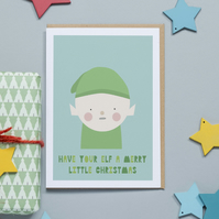 Christmas Card - Have Your Elf a Merry Christmas