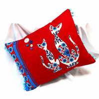 Nordic CAT cushion NOW REDUCED on SALE
