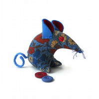 Liberty Vintage fabric Retro Mouse