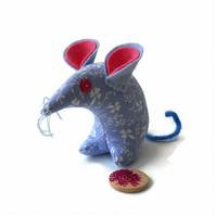 Hi Bluey ! Vintage fabric Retro Mouse