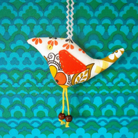 SALE Scandi Retro Bird