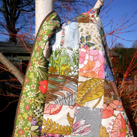 Patchwork Quilt in Vintage Fabric