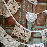 Vintage Doily bunting - great for Weddings!