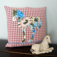 SALE  Horse cushion - for a horse 'y type!