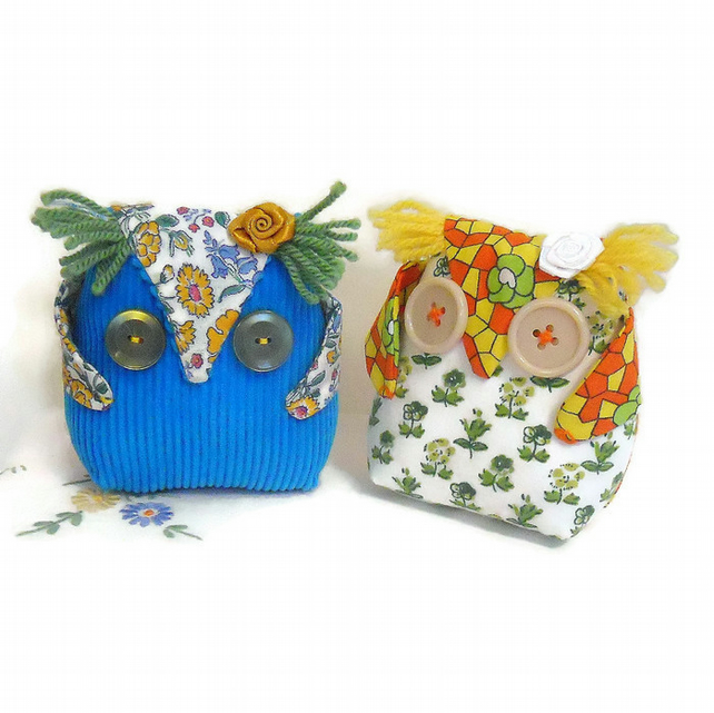 SALE OWL , hi there little FUNKY Lavender Owl !