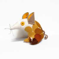 Funky 70s RETRO Mouse in 'Moon Glow'