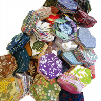 Hexie Patchwork pack - 60 PIECES, enough for CUSHION