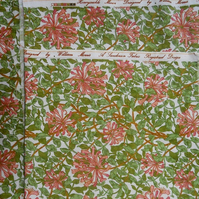 Vintage Fabric William Morris design DIY cushion and craft