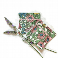 Vintage Fabric Lavender bags - Daisy Chain