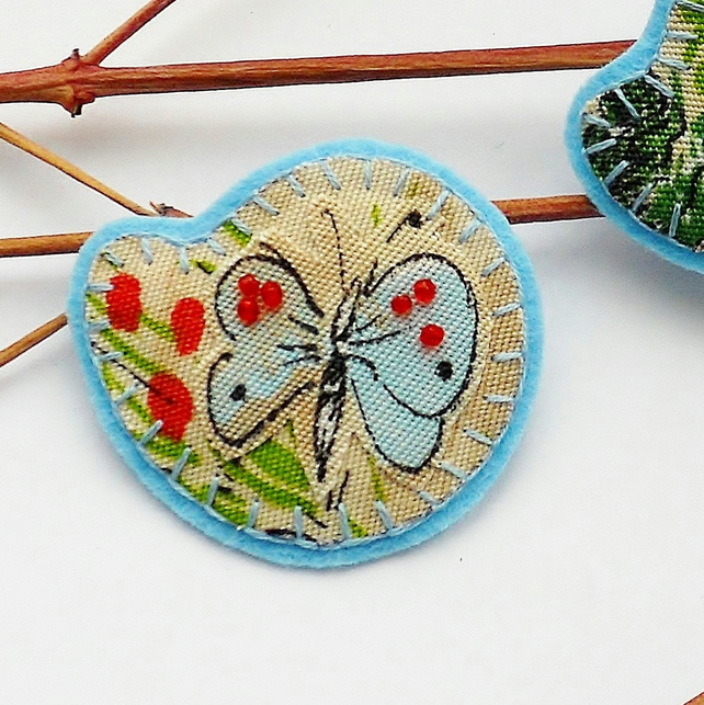 Pretty Butterfly Brooch - Stocking filler SALE