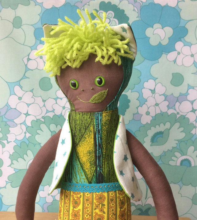 KENNY KITTYKAT a Cat Kitten BOY ETHNIC Rag Doll vintage collectable