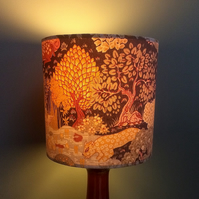 RETRO Animal Kingdom Vintage Fabric Lampshade - LAST TWO !!