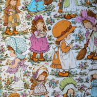 70s FUN and Adorable  VIctorian Country Girls  Lampshade option