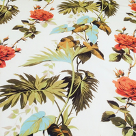 TIKI Tropical 50s 60s Cravendale Fabric LANREATH  Lampshade option