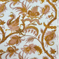 Gold Tone French Romanex Samarkande BIRD VIntage fabric Lampshade Option