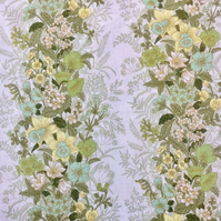Lemon and Lime Hanbury Daffodils Burgess Ledward Vintage fabric Lampshade Option