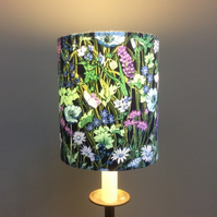 Floral Butterfly 70s Jolie Fleur By Moygashel Vintage Fabric Lampshade option