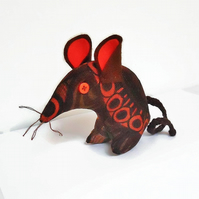 HI MARVIN MOD !  RETRO Mouse in BORAS Vintage fabric