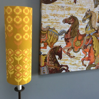 VERDURE by David Hall for HEALS 60s 70s Vintage style Fabric Lampshade option