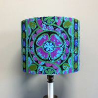 Colourful Funky Floral Karnak Sandersons vintage fabric Lampshade option