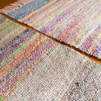 Hand Woven Placemats - Pink - Set of 2