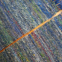 Hand Woven Placemats - Blue - Set of 2